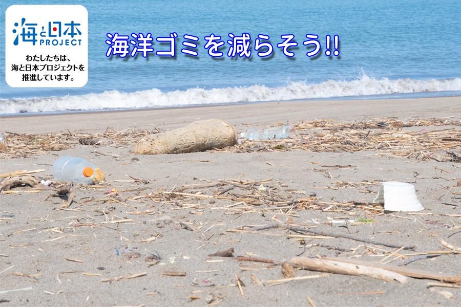 海と日本PROJECT-私たちは海と日本プロジェクトを推進しています。海洋ゴミを減らそう!!